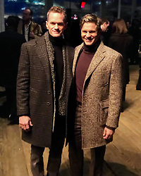 """Neil Patrick Harris releases a photo on Instagram with the following caption: """"Handsome \ud83d\udc99\ud83d\udc9a\n#neilpatrickharris #davidburtka #nph #db #tagsforlikes #actors #lovethem #handsome #chef #repost #fashionshow #couple #husbands @nph @dbelicious \ud83d\ude18\n[Repost from @lifeminute]"""". Photo Credit: Instagram *** No USA Distribution *** For Editorial Use Only *** Not to be Published in Books or Photo Books ***  Please note: Fees charged by the agency are for the agency's services only, and do not, nor are they intended to, convey to the user any ownership of Copyright or License in the material. The agency does not claim any ownership including but not limited to Copyright or License in the attached material. By publishing this material you expressly agree to indemnify and to hold the agency and its directors, shareholders and employees harmless from any loss, claims, damages, demands, expenses (including legal fees), or any causes of action or allegation against the agency arising out of or connected in any way with publication of the material."""