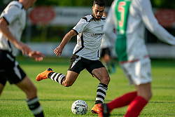 Serkan Yasar of VV Maarssen in action. Friendly match against EDO and Maarssen lost the home match with 3-0 on 20 August 2020 in Maarssen.