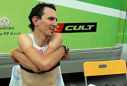 Mitja Mahoric of Slovenia (Perutnina Ptuj) after 1st stage of the 15th Tour de Slovenie from Ljubljana to Postojna (161 km) , on June 11,2008, Slovenia. (Photo by Vid Ponikvar / Sportal Images)/ Sportida)