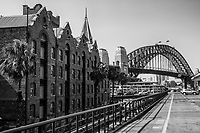 Harbour Bridge from Circular Quay, The Rocks