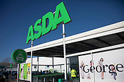 Asda supermarket chain on Old Kent Road on 9th January 2020 in London, England, United Kingdom. Asda Stores Ltd. is a British supermarket retailer, headquartered in West Yorkshire. The company was founded in 1949 and was listed on the London Stock Exchange until 1999 when it was acquired by the American retail giant Walmart for £6.7 billion. Asda was the second-largest supermarket chain in Britain between 2003 and 2014 by market share, at which point it fell into third place. Since April 2019, it has regained its second-place position.