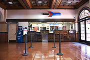 Amtrak Ticket Counter at Santa Ana Station