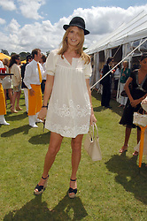 PENNY LANCASTER wife of singer Rod Stewart at the final of the Veuve Clicquot Gold Cup 2007 at Cowdray Park, West Sussex on 22nd July 2007.<br /><br />NON EXCLUSIVE - WORLD RIGHTS