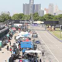 Detroit, MI - Jun 03, 2016:  The IMSA WeatherTech Sportscar Championship teams take to the track for a practice session for the Chevrolet Detroit Belle Isle Grand Prix at Belle Isle Park in Detroit, MI.