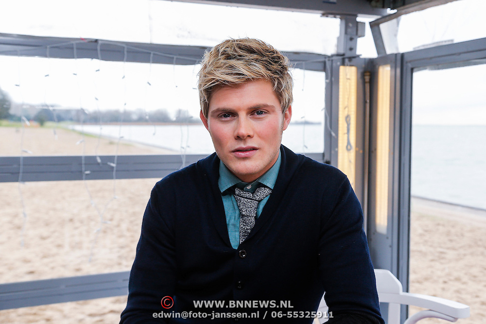NLD/Muiden/20121212 - Persviewing De Beste Zangers van Nederland, Tim Douwsma