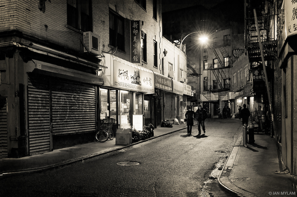 A Night in Chinatown - New York City, U.S.A.