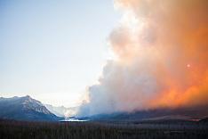 2015 July 21 Reynolds Creek Fire Glacier NP
