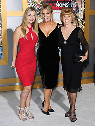 Los Angeles Premiere Of STX Entertainment's 'A Bad Moms Christmas' held at Regency Village Theatre on October 30, 2017 in Westwood, California. 30 Oct 2017 Pictured: Catherine Rose Young, Cheryl Hines, Rosemary Hines. Photo credit: IPA/MEGA TheMegaAgency.com +1 888 505 6342