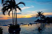 sunset, Marival Armony Luxury Resort & Suites, Destiladeras Beach, Punta Mita, Riviera Nayarit, Nayarit, Mexico