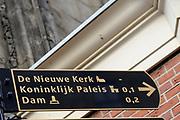 De Nieuwe Kerk is een kerkgebouw in Amsterdam. De kerk is gelegen aan de Dam, naast het Paleis op de Dam.De Nieuwe Kerk wordt, sinds soeverein-vorst Willem in 1814 in deze kerk de eed op de grondwet aflegde, ook gebruikt voor de inzegening van koninklijke huwelijken en voor inhuldigingen. De inhuldiging van Koningin Beatrix vond er plaats op 30 april 1980. Op dezelfde datum in 2013 zal de inhuldiging van haar zoon en opvolger Willem-Alexander ook daar plaatsvinden.<br /> <br /> The New Church is a church building in Amsterdam. The church is located on Dam Square, next to the Palace on the Dam.De New Church in this church in 1814, since sovereign-prince Willem laid aside the oath to the Constitution, also used for the blessing of royal weddings and inaugurations. The inauguration of Queen Beatrix took place on April 30, 1980. On the same date in 2013, the inauguration of her son and heir Willem-Alexander will also take place there.