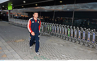 3 June 2013; Brian O'Driscoll, British & Irish Lions, at Perth International Airport upon the squad's arrival in Australia for the British & Irish Lions Tour 2013. Perth International Airport, Perth, Australia. Picture credit: Stephen McCarthy / SPORTSFILE