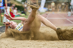 Manca Starasinic competes during day 2 of Slovenian Athletics Cup 2019, on June 16, 2019 in Celje, Slovenia. Photo by Peter Kastelic / Sportida