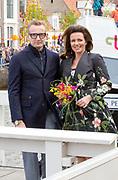 De koninklijke familie is in Zwolle voor de viering van Koningsdag. /// The royal family is in Zwolle for the celebration of King's Day.<br /> <br /> Op de foto / On the photo:   Prins Bernard en prinses Annette