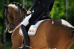 Verwimp Jorinde (BEL) - Tiano<br /> FEI European Championship Juniors - Bern 2012<br /> © Hippo Foto - Leanjo de Koster