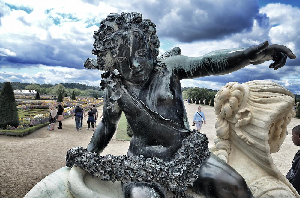 Statue in Versailles