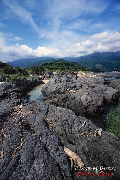 Yakushima Coastal Scenic