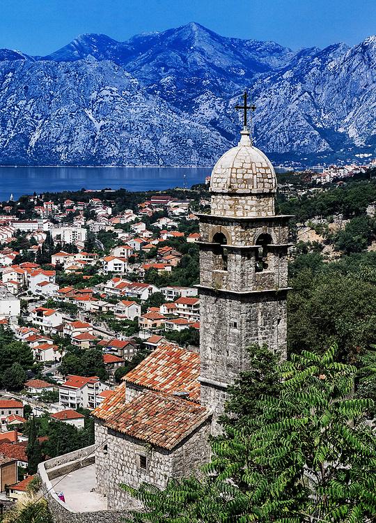 Panoramic view of Kotor, Montenegro