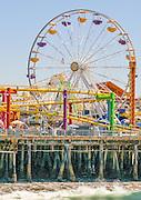 Pacific Park Amusement Park on the Santa Monica Pier