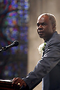 Glynn Turman at the Celebration of the Life and Legacy of Dr. Barabara Ann Teer at the Memorial Service held at The Riverside Church in Harlem, NY on Monday, July 28, 2008