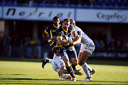 RUGBY - CHAMPIONS CUP - 2017<br /> hill (jonny)<br /> spedding (scott)<br /> woodburn (olly)<br /> Clermont / Exeter le 21/01/2017<br /> Photo : Pierre Lahalle