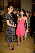 YASMIN LE BON AND YASMIN MILLS, 240th Royal Academy Summer Exhibition fundraising private view. Piccadilly. London.4 June 2008.  *** Local Caption *** -DO NOT ARCHIVE-© Copyright Photograph by Dafydd Jones. 248 Clapham Rd. London SW9 0PZ. Tel 0207 820 0771. www.dafjones.com.