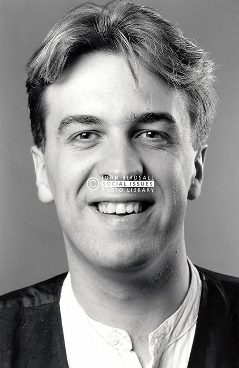Portrait of man UK 1990s