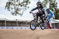 #142 (RIDENOUR Payton) USA at Round 1 of the 2020 UCI BMX Supercross World Cup in Shepparton, Australia