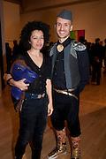 VANIA GALA; MIKHAIL KARAKIS, Migrations private view, Tate Britain. London. 30 January 2012.
