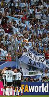 Hamburg 10/6/2006 World Cup 2006<br /> <br /> Argentina Cote d'Ivoire - Argentina Costa d'Avorio 2-1<br /> <br /> Photo Andrea Staccioli Graffitipress<br /> <br /> Hernan Crespo of Argentina celebrates after scoring<br /> <br /> Hernan Crespo festeggia dopo il gol