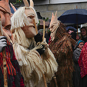 The traditional Entrudo (Carnival) of Lazarim, where on Shrove Tuesday people in wood masks gather in village's main square.