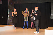 LAURA BAILEY; JULIAN FULLER FashionExpo, fashion show and Awards. Business Design Centre, Upper st. London. 19 November 2008.  *** Local Caption *** -DO NOT ARCHIVE -Copyright Photograph by Dafydd Jones. 248 Clapham Rd. London SW9 0PZ. Tel 0207 820 0771. www.dafjones.com