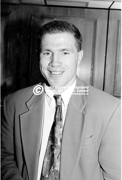 19-09-1992. Meath v Armagh - All-Ireland MFC Final at Croke Park.<br /> Michael Carruth, Olympic Welterweight Gold Medalist who was honoured for his achievement by the GAA.<br /> Photo: John Quirke / www.quirke.ie<br /> ©John Quirke Photography, 16 Proudstown Road, Navan. Co. Meath. (info@quirke.ie / 046-9028461 / 087-2579454).
