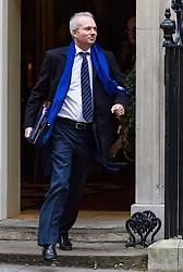 London, December 05 2017. Justice Secretary David Lidington leaves 10 Downing Street following the weekly cabinet meeting. © Paul Davey