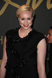 Gwendoline Christie, The British Fashion Awards 2014, The London Coliseum, London UK, 01 December 2014, Photo By Brett D. Cove © Licensed to London News Pictures. 02/12/2014. Brett D Cove/PIQ/LNP