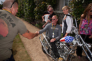 ALLAN BREWER; PETER FONDA, Cartier Style et Luxe at the Goodwood Festival of Speed. Goodwood House. 5 July 2009.