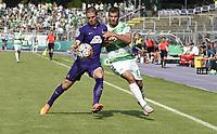 ALL BRUK AV BILDET BLIR FAKTURERT. INNGÅR IKKE I AVTALER.<br /> <br /> Fotball<br /> Tyskland<br /> Foto: imago/Digitalsport<br /> NORWAY ONLY<br /> <br /> 08.08.2015 - Fussball - Saison 2015 2016 - DFB Pokal Vereinspokal - 01. Runde: FC Erzgebirge Aue - SpVgg Greuther Fürth Fuerth - / - Adam Susac (21, Erzgebirge Aue ) Zlatko Tripic (17, SpVgg Greuther Fürth )<br /> <br /> Zlatko Tripic