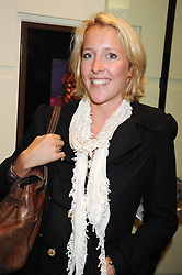 DAISY BLOUNT sister of singer James Blunt at a party hosted by Links of London to launch their new Driver Chicane Chronograph Watch held at Lonks, Sloane Square, London on 24th September 2008.