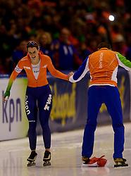 13-01-2013 SCHAATSEN: EK ALLROUND: HEERENVEEN<br /> NED, Speedskating EC Allround Thialf Heerenveen / 5000 women - Ireen Wust<br /> ©2013-FotoHoogendoorn.nl