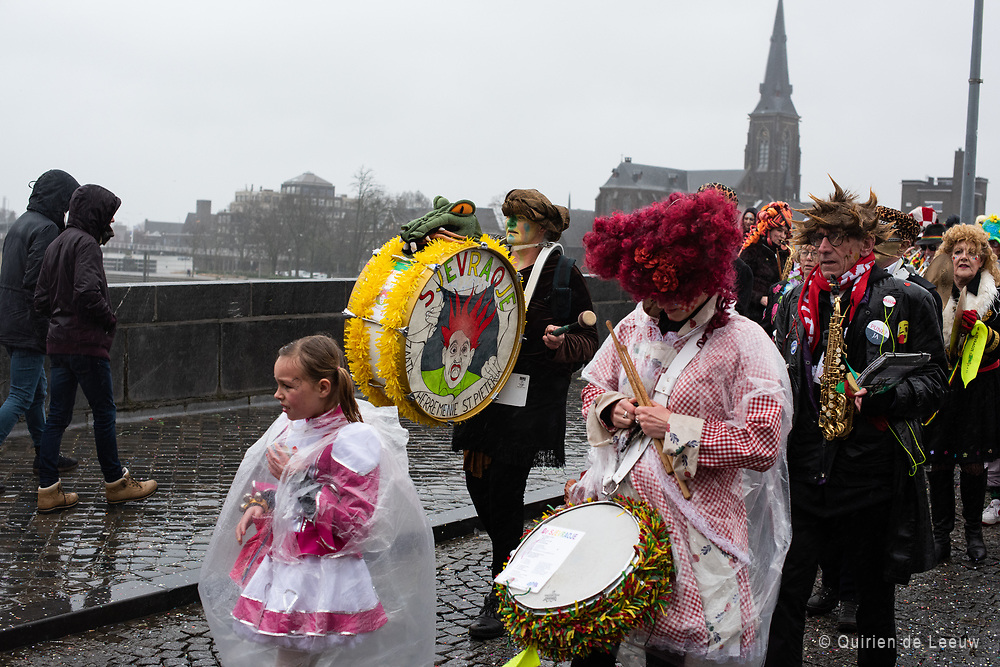Celebration of carnaval in the southern part of the Netherlands, Maastricht.
