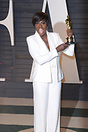 Viola Davis at the Vanity Fair Oscar Party on February 26, 2017 at the Wallis Annenberg Center for the Performing Arts in Beverly Hills, California (Photo: Charlie Steffens/Gnarlyfotos)