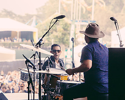 Holy Ghost performs at the 2014 Outside Lands Music and Art Festival - San Francisco, CA - 8/8/14