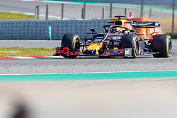 February 18, 2019 - Montmelo, Catalonia, Spain - Max Verstappen of Aston Martin RedBull Racing seen in action during the afternoon session of the first day of F1 Test Days in Montmelo circuit. (Credit Image: © Javier MartíNez De La Puente/SOPA Images via ZUMA Wire)