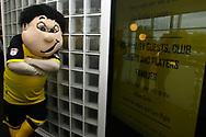 Burton Albion's Mascot Billy Brewer during the EFL Sky Bet Championship match between Burton Albion and Wolverhampton Wanderers at the Pirelli Stadium, Burton upon Trent, England on 30 September 2017. Photo by John Potts.