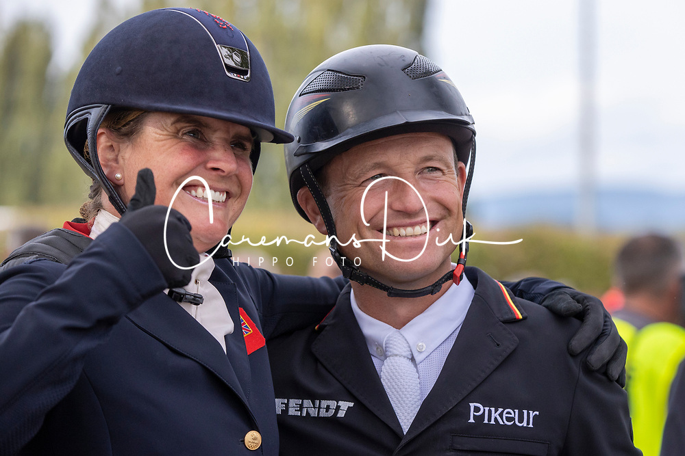 March Piggy, GBR, Jung Michael, GER<br /> FEI EventingEuropean Championship <br /> Avenches 2021<br /> © Hippo Foto - Dirk Caremans<br />  26/09/2021