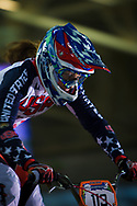 #113 (STANCIL Felicia) USA at the UCI BMX Supercross World Cup in Manchester, UK