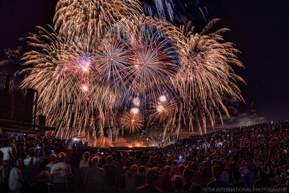 Independence Day Fireworks, Gas Works Park