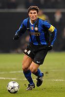 Fotball<br /> Italia<br /> Foto: Inside/Digitalsport<br /> NORWAY ONLY<br /> <br /> Javier Zanetti (Inter)<br /> <br /> 26.11.2008<br /> Champions League 2008/2009<br /> Inter v Panathinaikos
