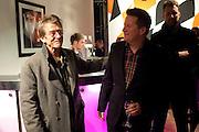 JOHN HURT; MATTHEW BOURNE, FIRST NIGHT for Matthew Bourne's Swan Lake. Sadler's Wells. London. 11 December 2009