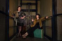 Vintage styled photo shoot with Sherri, Deb and Lucy.  ©2017 Karen Bobotas Photographer