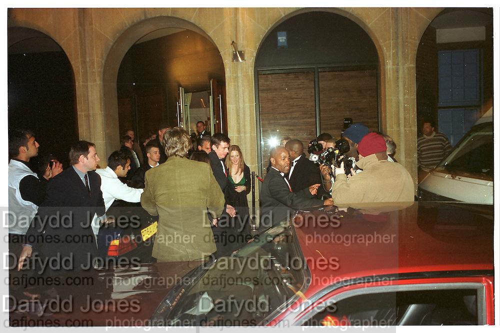 Miramax post Bafta's party. Noble Rot. 9 April 2000. © Copyright Photograph by Dafydd Jones 66 Stockwell Park Rd. London SW9 0DA Tel 020 7733 0108 www.dafjones.com